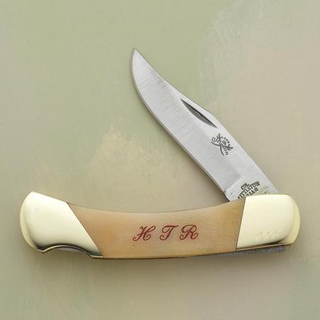 ENGRAVED YUKON KNIFE