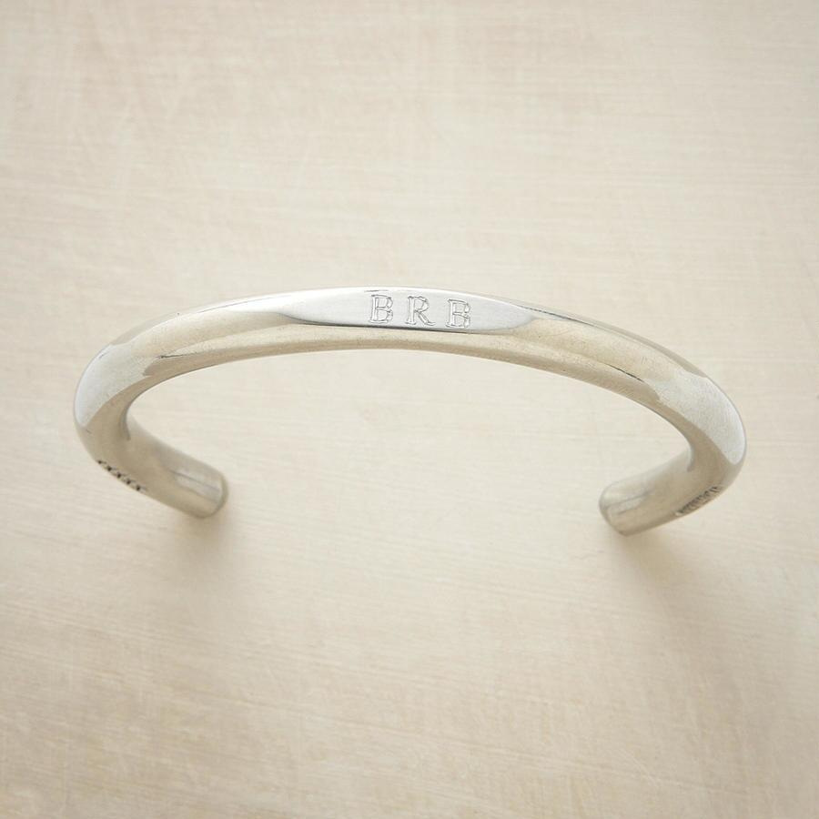ENGRAVED PEWTER CUFF