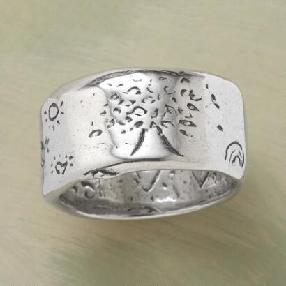 STERLING SILVER STRENGTH RING
