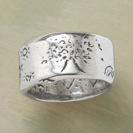 SILVER STRENGTH RING