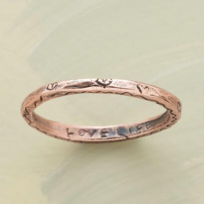 ROSE GOLD VITALITY RING