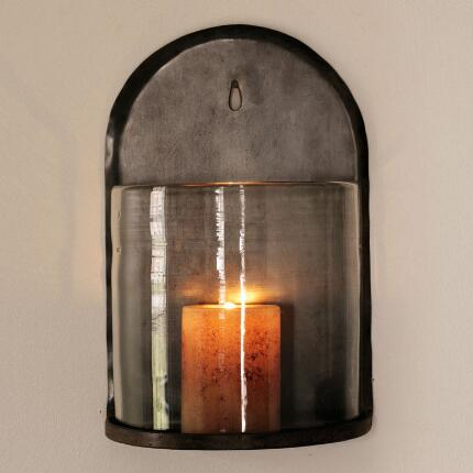 DEMILUNE CANDLE SCONCE