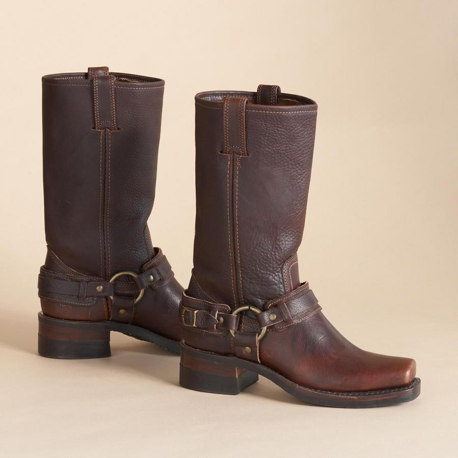 BELTED HARNESS BOOTS