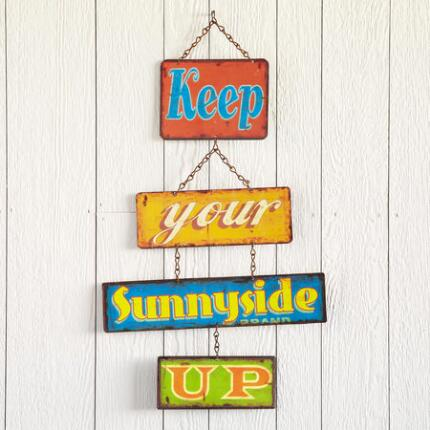 SUNNY SENTIMENT SIGN