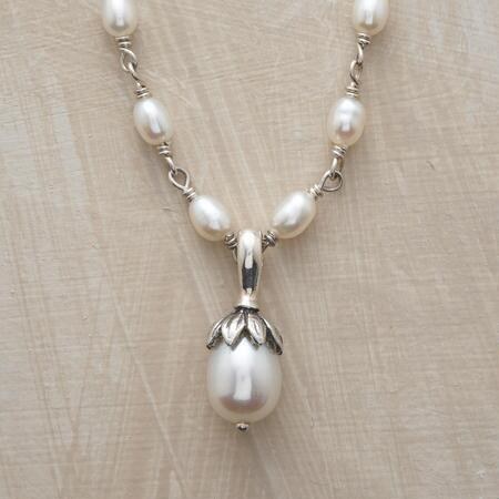 LOTUS PEARL NECKLACE