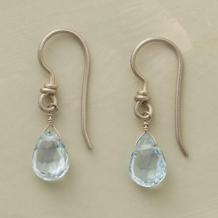 CRYSTAL DEWDROP BRIOLETTE EARRINGS