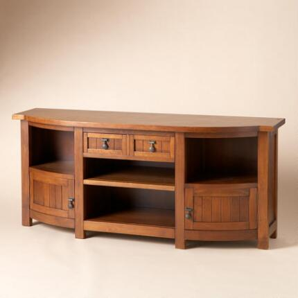 CHERRY WOOD CONSOLE