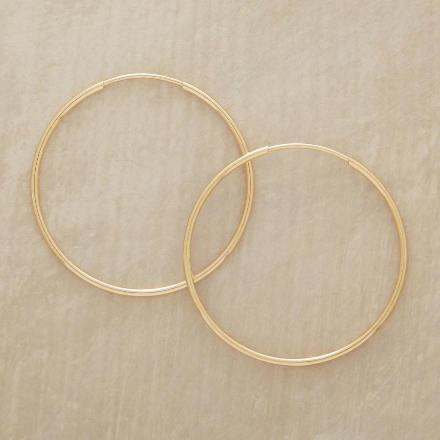 ENDLESS HOOPS OF GOLD