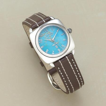 TURQUOISE FACE WATCH