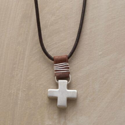 HOMESTEAD CROSS NECKLACE