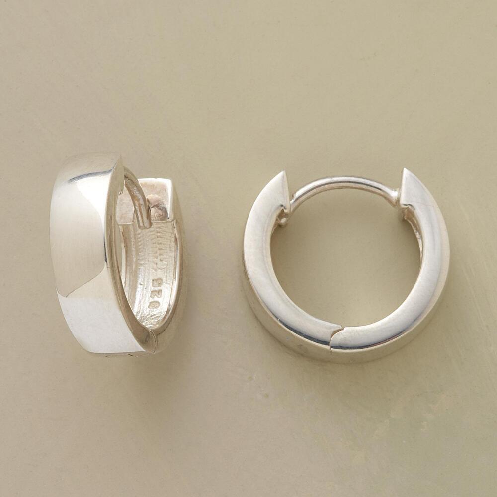 Sterling Silver Hoop Earrings Small Topearrings