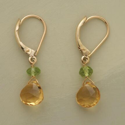SHOW-STOPPER CITRINE EARRINGS