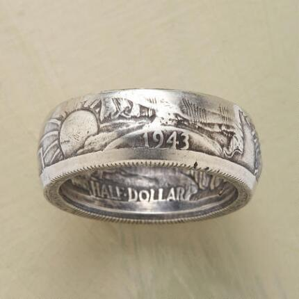 WALKING LIBERTY HALF DOLLAR RING