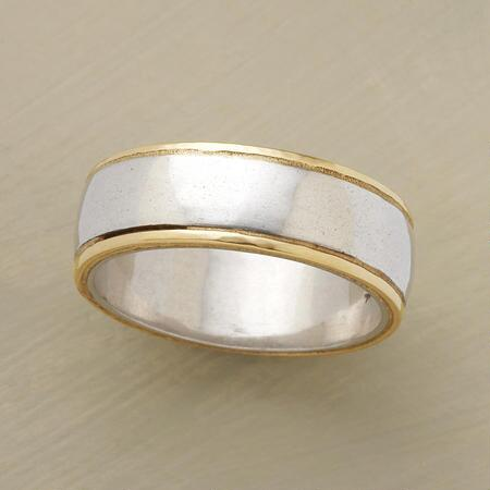 A hammered infinity band ring so timeless, you will love it forever.