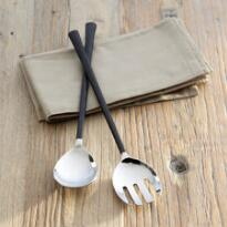 ARTISAN HAMMERED FLATWARE - SERVING SET