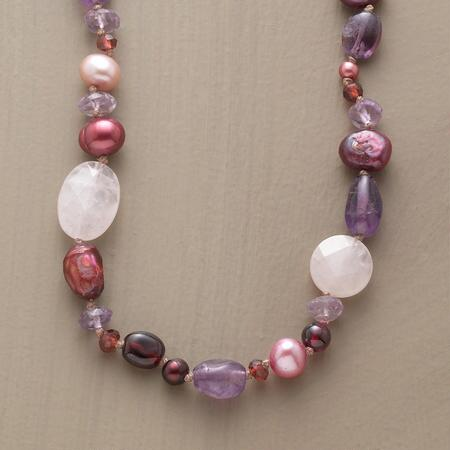 PINK & PURPLE PROMENADE NECKLACE