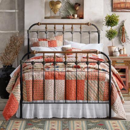BOHO IRON BED