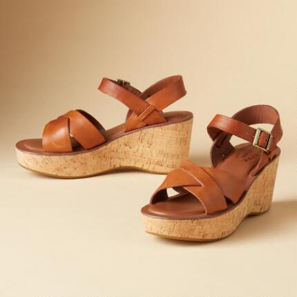"ORIGINAL KORK EASE® SANDALS, 3"" HEEL"