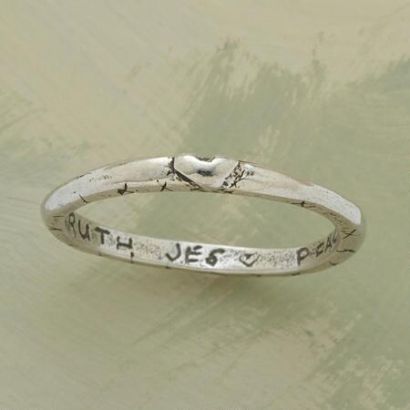 LOVING SENTIMENTS RING
