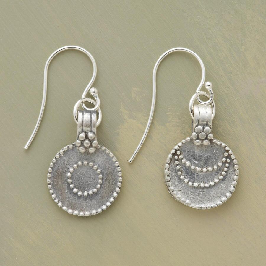 SILVER LUNA/SOL EARRINGS