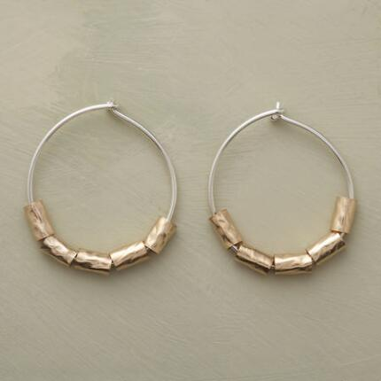 LOOP-THE-LOOP EARRINGS
