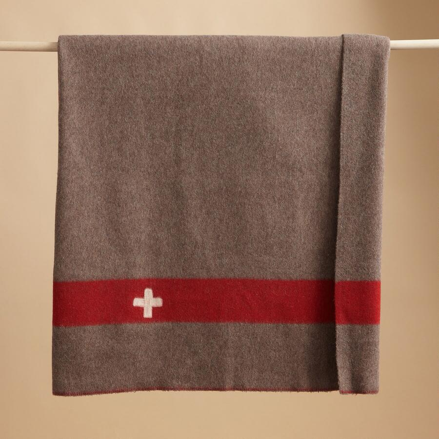 VINTAGE SWISS ARMY BLANKET