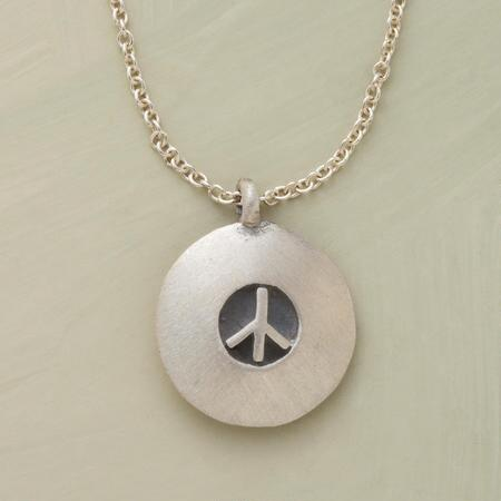 CHARMS FOR PEACE NECKLACE