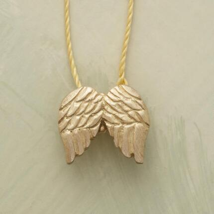 MAKE-A-WISH ANGEL WINGS NECKLACE