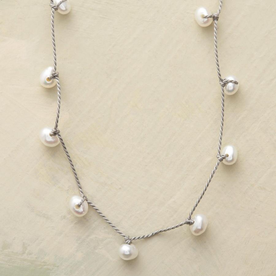 ZIGZAG PEARL NECKLACE
