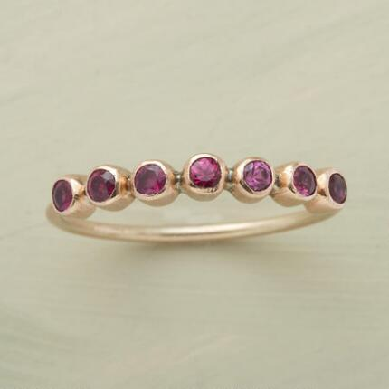 RUBIES-IN-A-ROW RING