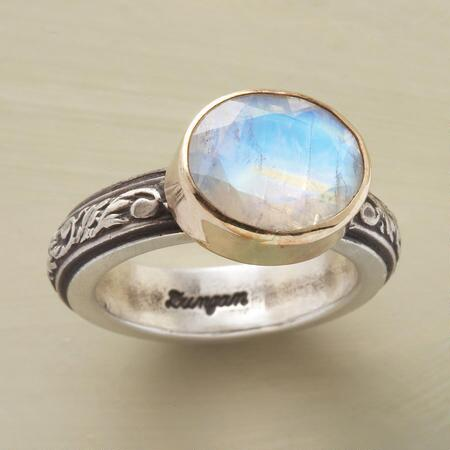 LIGHT OF THE MOONSTONE RING