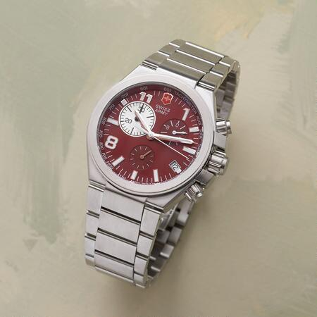 SWISS ARMY® CONVOY CHRONO RED WATCH