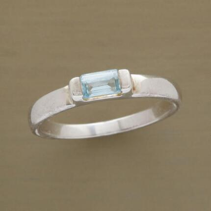 LET THE LIGHT IN TOPAZ RING