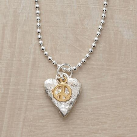 PEACEFUL LOVE NECKLACE