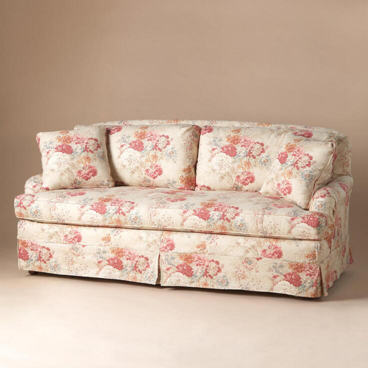 Vintage Floral Sofa Sofas Loveseats Furniture