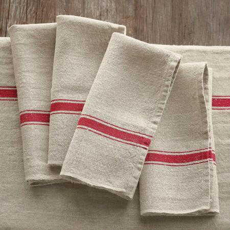 PROVENCE LINEN NAPKINS, SET OF 4
