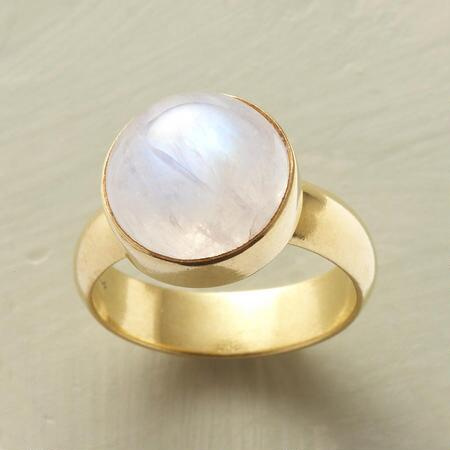 MYSTERIES OF MOONSTONE RING