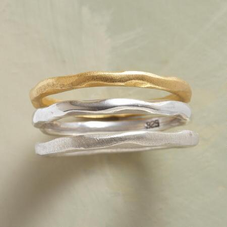 PATINA TRIO RINGS