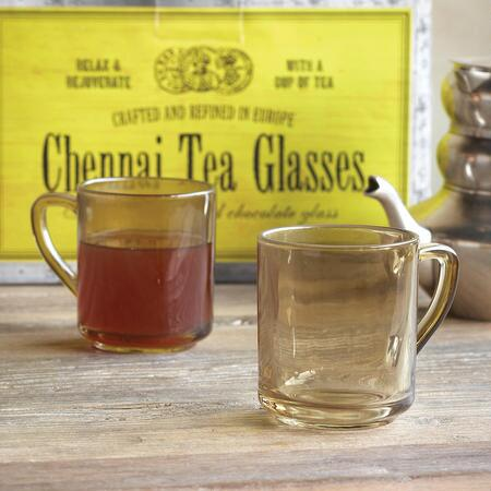 CHENNAI TEA GLASSES, SET OF 2