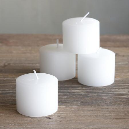 PILLAR CANDLE, SET OF 4