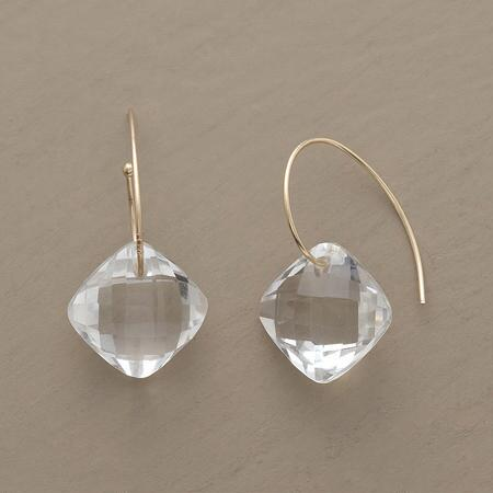 CLEAR CUT EARRINGS
