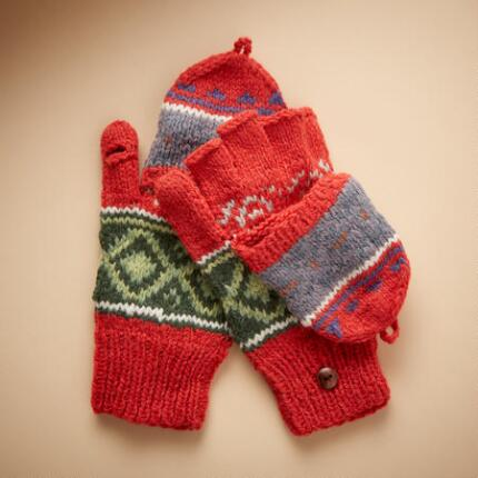 ARTISAN HOODED MITTENS