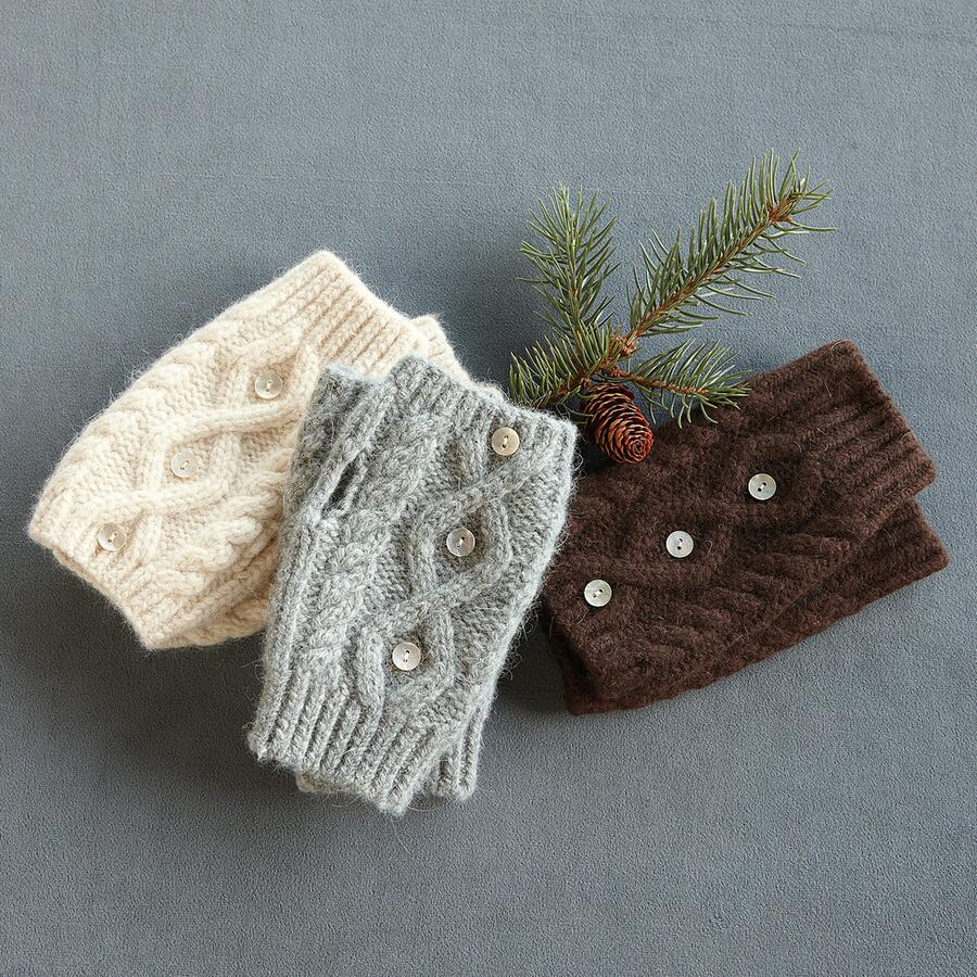 NORWEIGAN WOODS FINGERLESS GLOVES
