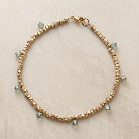 GREEN, GOLD AND GORGEOUS BRACELET