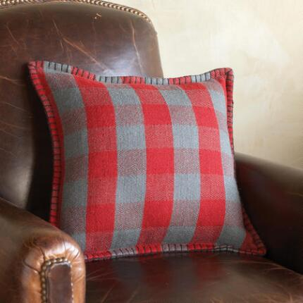 BUNGALOW CHECK PILLOW