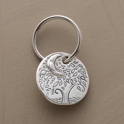 LOVE BEYOND THE MOON KEY RING