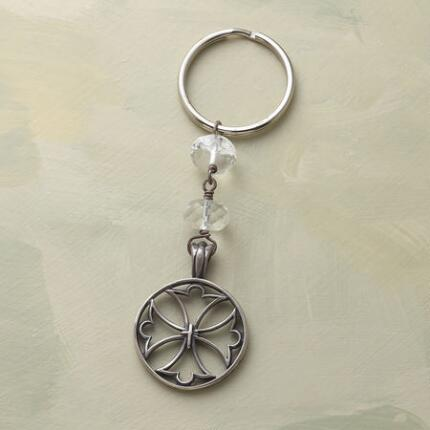 SYMBOLOGY KEYRING CRUSADERS CROSS