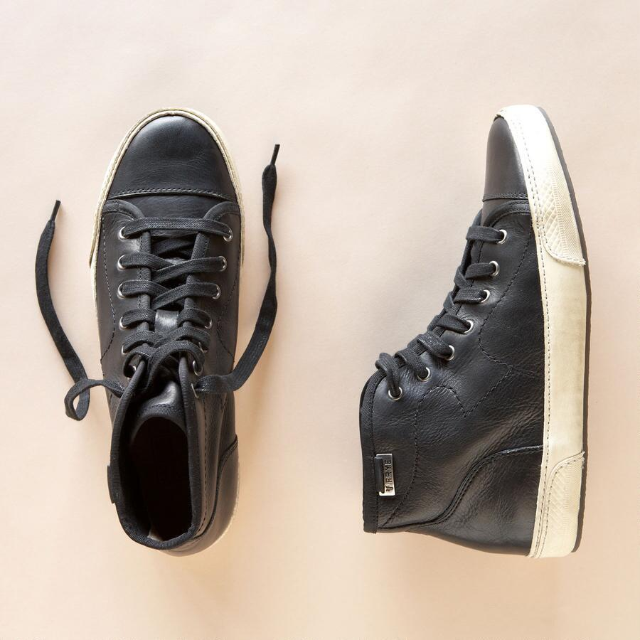LEATHER HIGH-TOPS