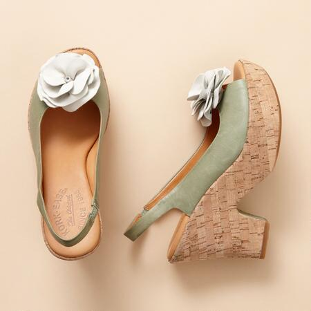 IRENE PEEP TOE SANDALS