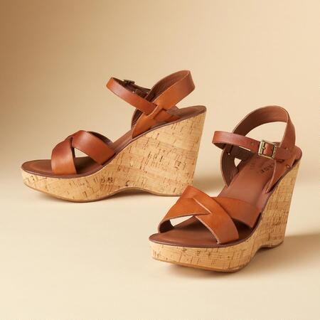 "ORIGINAL KORK EASE® SANDALS, 4"" HEEL"